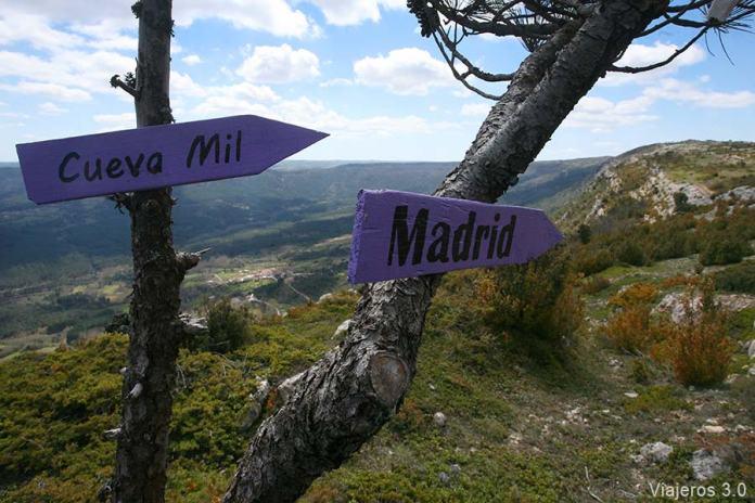 senderismo Valle de las Caderechas