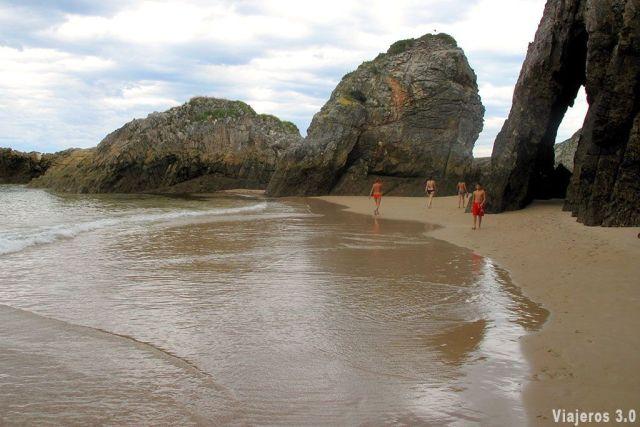 Playa de la Franca, las mejores playas y pueblos de Asturias