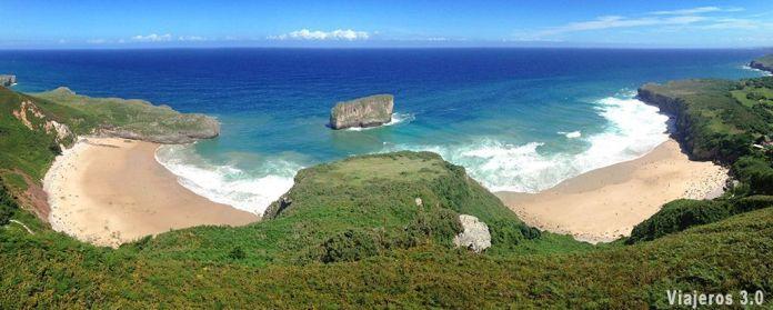 mirador de las playas más bonitas de Asturias