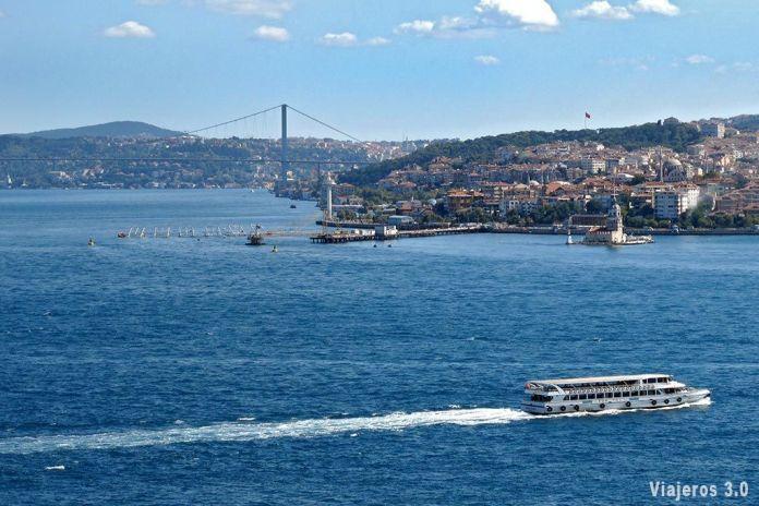 Crucero por el Bósforo, visitar Estambul