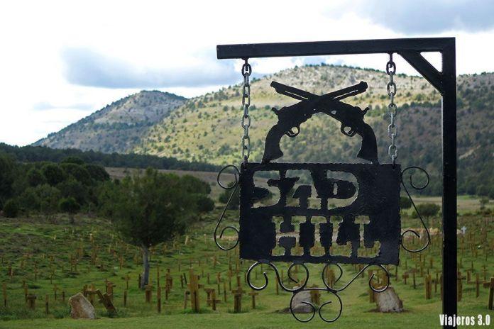 Cementerio de Sad Hill en Burgos, la Comarca del Arlanza