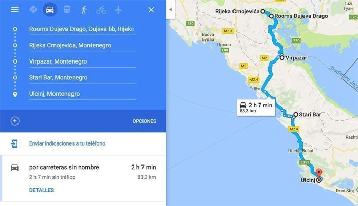 Guía de Montenegro, una semana en coche