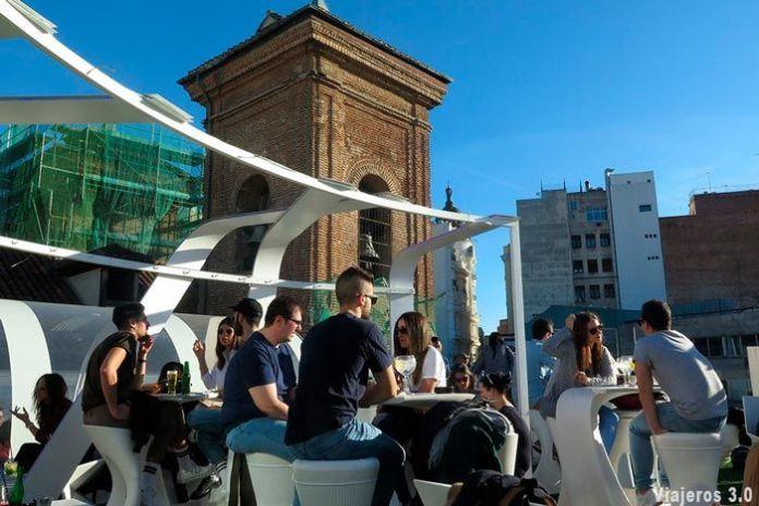 Terraza Gymage, las mejores terrazas de Madrid