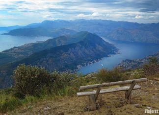 Vistas de la Bahía de Kotor, guía de Montenegro