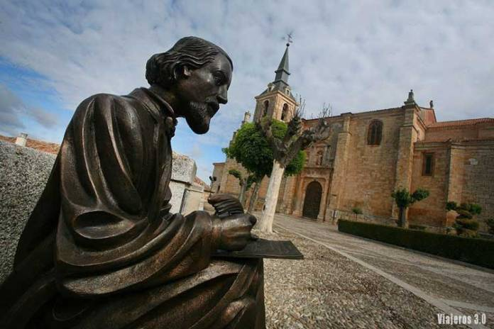 Estatua de José Zorrilla en Lerma, qué ver en la Comarca del Arlanza