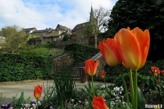 jardines de Fougeres, ruta por la Bretaña en 4 días