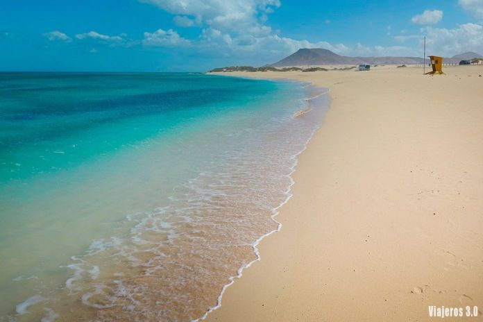 playa del Burro en Corralejo, las mejores playas de Fuerteventura