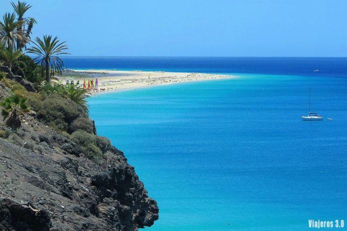 playa del Matorral en Morro Jable, las mejores playas de Fuerteventura