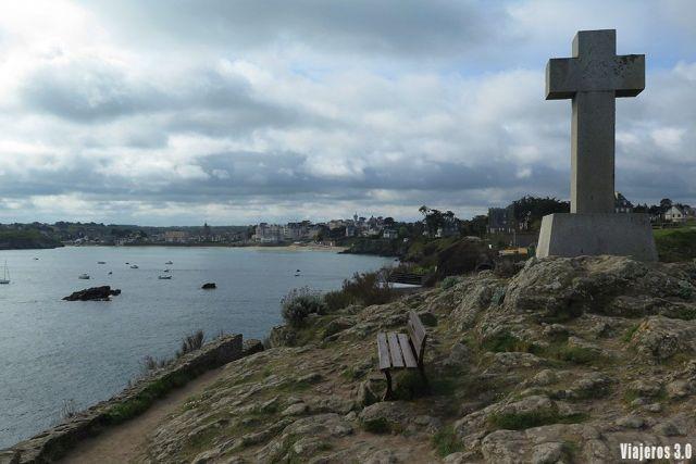 vistas Saint-Lunaire, ruta por la Bretaña francesa en 4 días