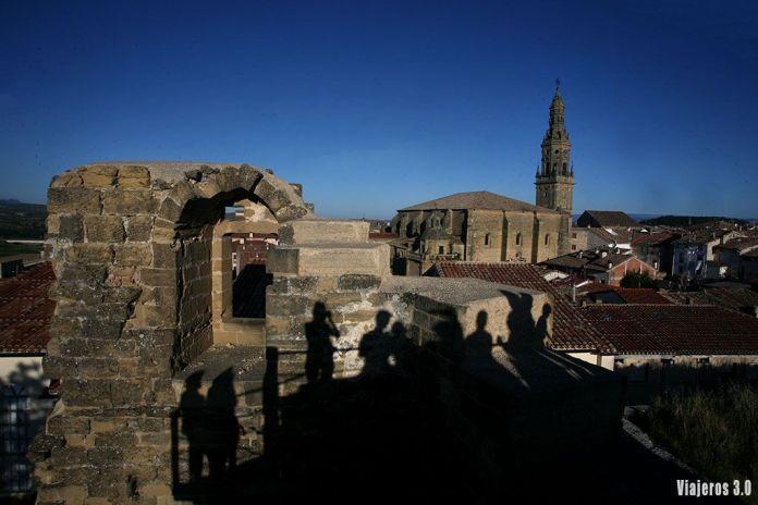 Vistas desde el castillo de Briones