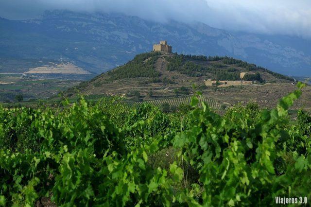 Castillo de Davalillo en los pueblos más bonitos de La Rioja alta