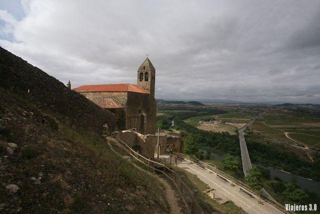 Paseando por el centro de San Vicente de la Sonsierra en La Rioja