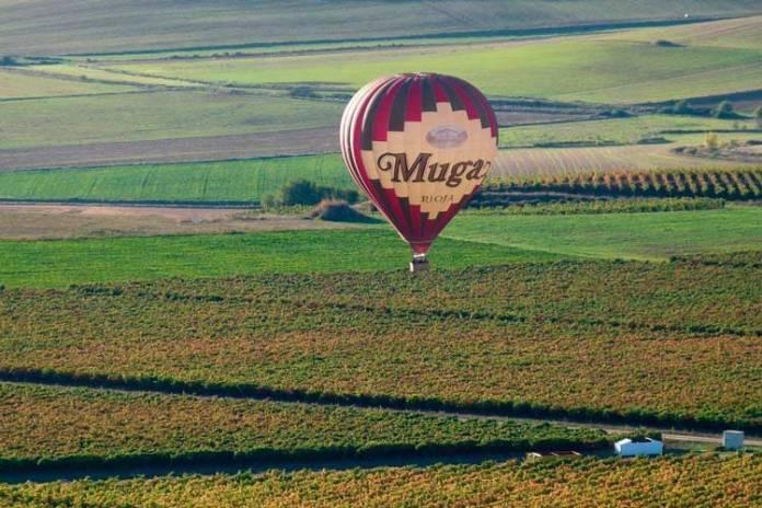 Globos Arcoiris, vuelo en globo por La Rioja