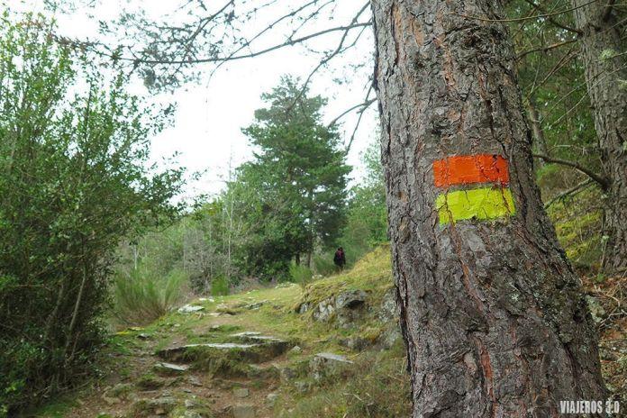 senderos oficiales en la Sierra de Cebollera