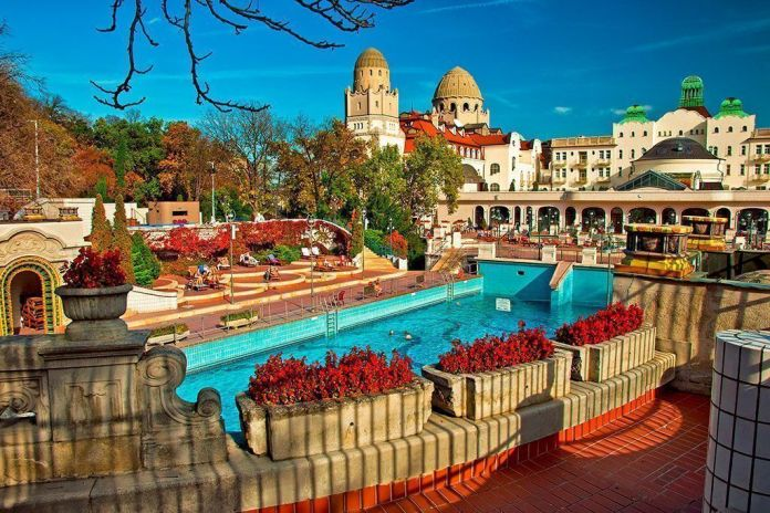 Balneario Gellert, Los mejores baños y balnearios de Budapest