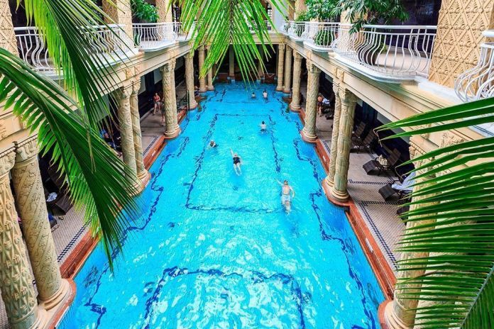 Los mejores baños y balnearios de Budapest, Balneario Gellert