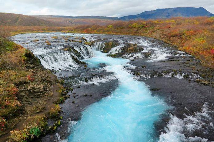 Bruarfoss, cascadas en Islandia