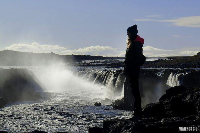 Cascada Selfoss, ruta por Islandia en 2 semanas
