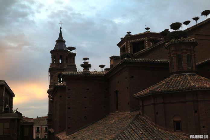 Colonia de cigüeñas de Alfaro, visitar Calahorra
