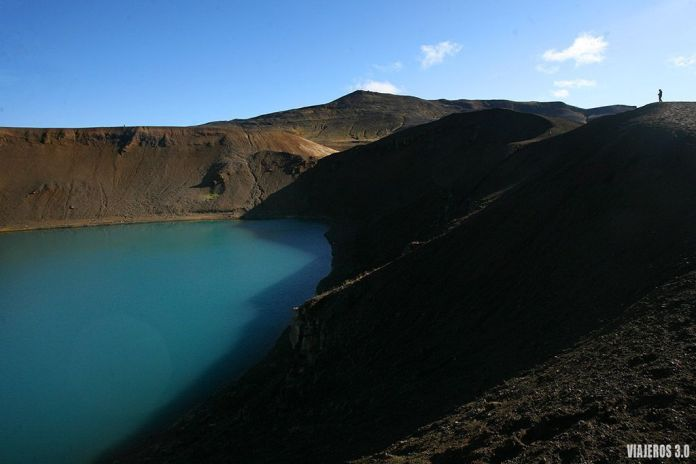 Crater Viti, ruta por Islandia en 2 semanas