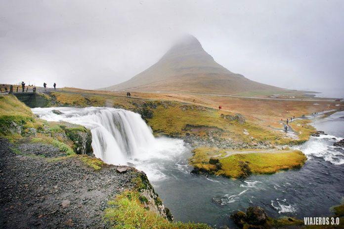 Las cascadas más bonitas de Islandia, Kirkjufellsfoss