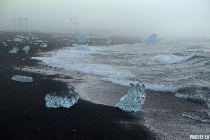 playa de los diamantesJökulsárlón, ruta por Islandia en 2 semanas