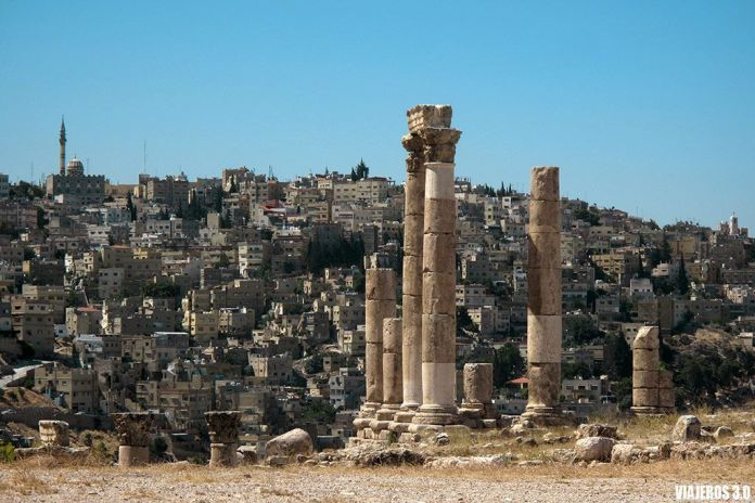 Ciudadela de Ammán, ruta por Jordania en una semana