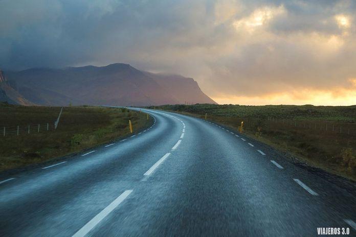 viajar a Islandia en septiembre, carreteras, la Ring Road