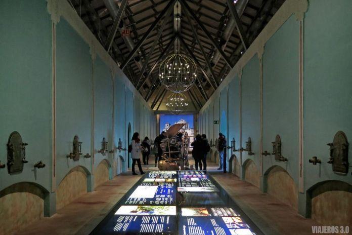 Interior del Museo del Vino de Pagos del Rey