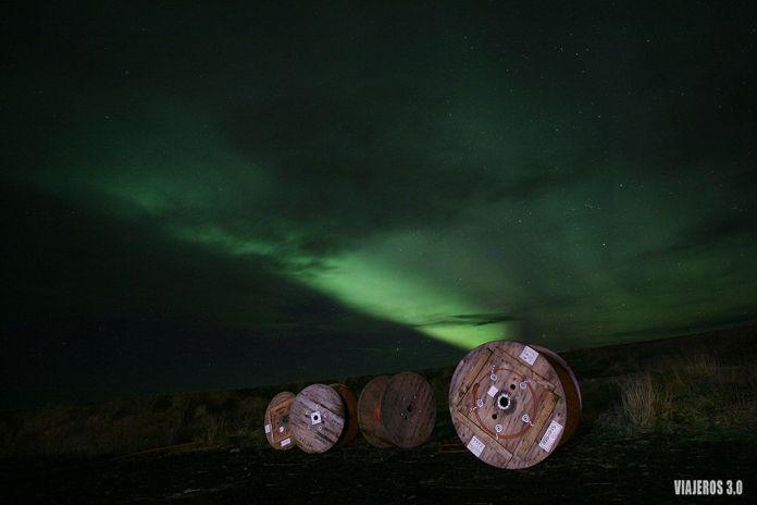 Cómo ver auroras boreales en Islandia