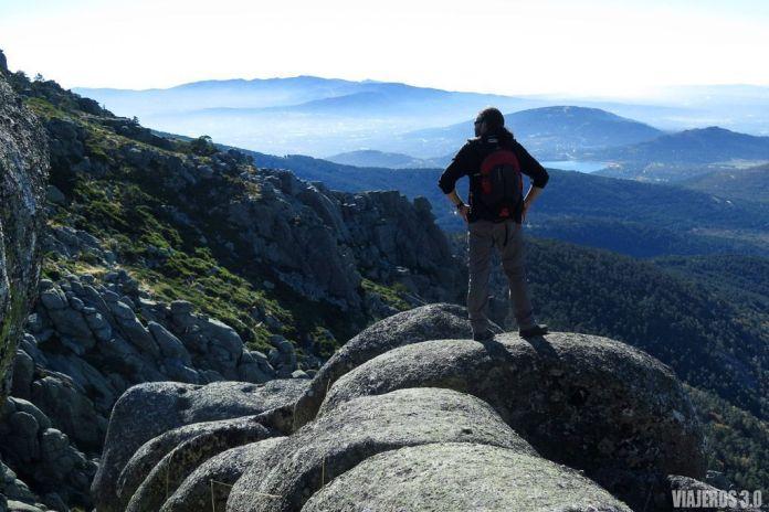 Ruts de los Siete Picos en Navacerrada