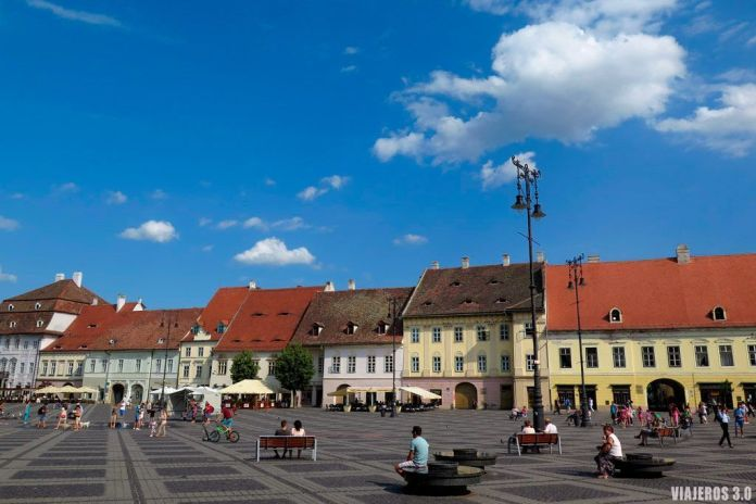 Sibiu rn Rumanía, destinos europeos para descubrir en 2018