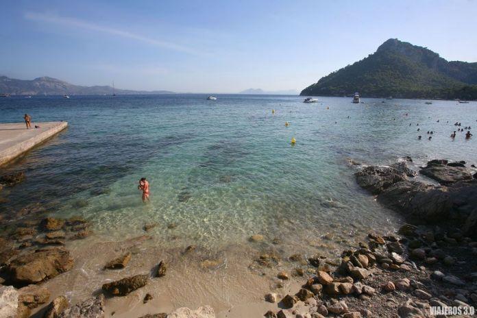 Playa de Formentor en Mallorca