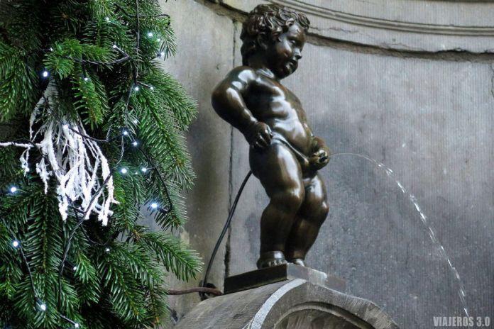 Manneken Pis, qué ver en Bruselas en uno o dos días