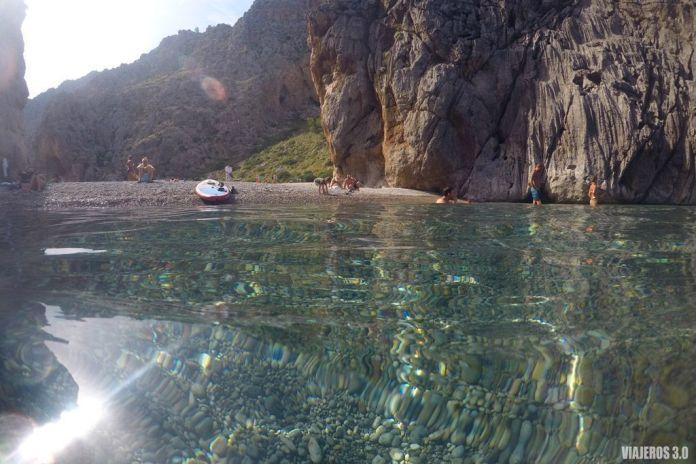 Sa Calobra en la Sierra de Tramontana, las mejores playas de Mallorca
