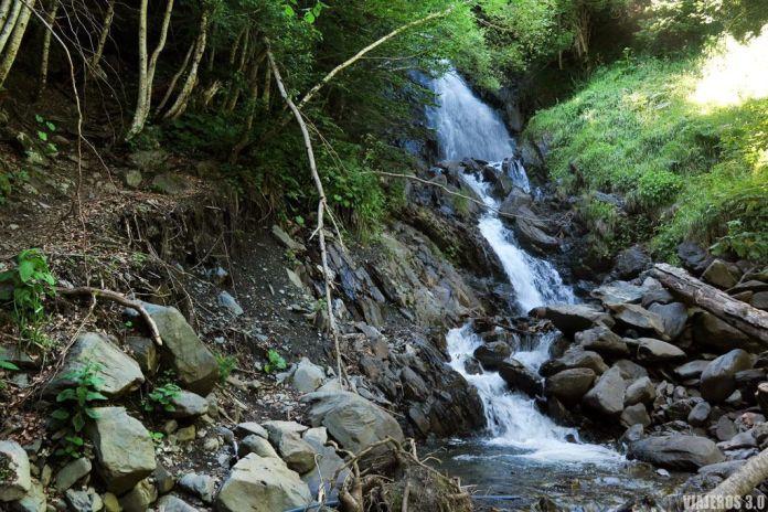 cascada de Pomèro, senderismo en el Valle de Arán