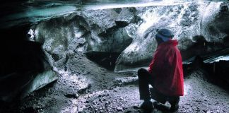 Cueva de hielo en Islandia, Cueva de Katla