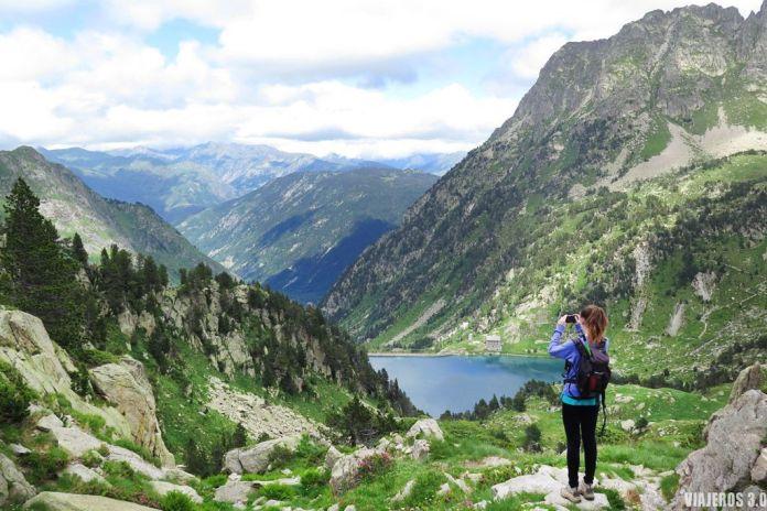 Lago de La Restanca, Ruta a la Restanca y el Lac de Mar