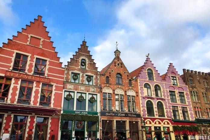 Arquitectura tradicional de Brujas. Ruta por Bélgica: Brujas, Gante y Bruselas en 4 días