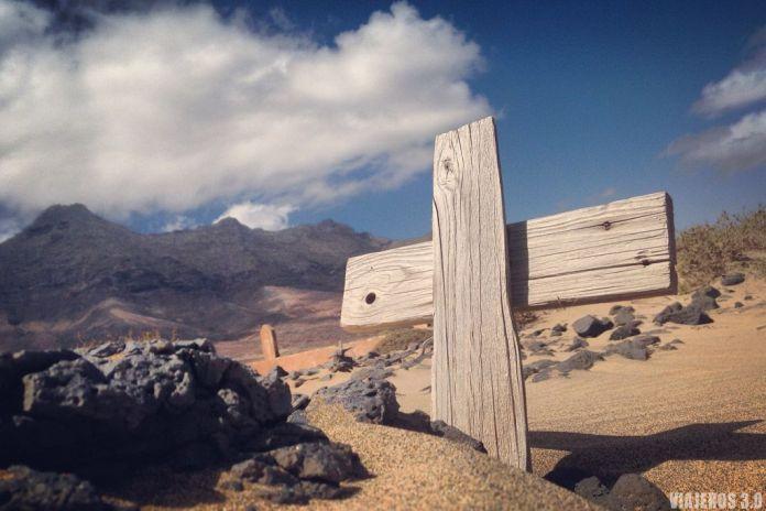 Ruta por Fuerteventura en 4 días, cementerio Cofete