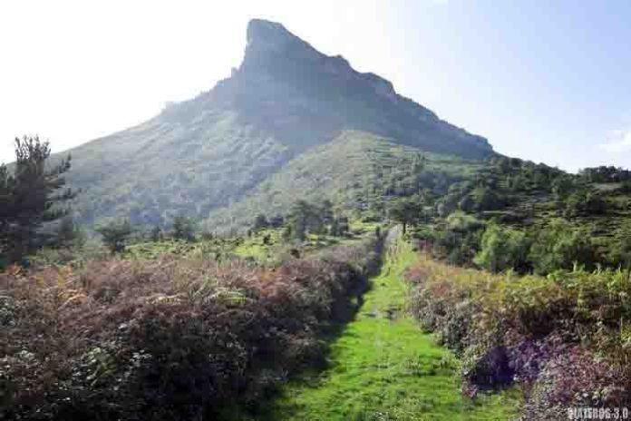 Pico Tologorri desde Lendoño de Arriba