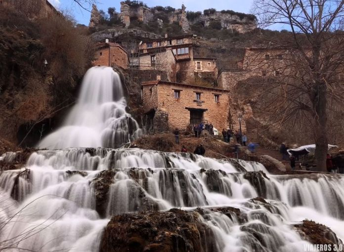 cascadas de Burgos, Orbaneja del Castillo