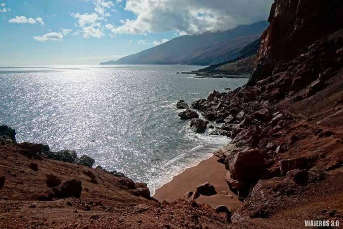 Playa de Tacorón, que ver en El Hierro