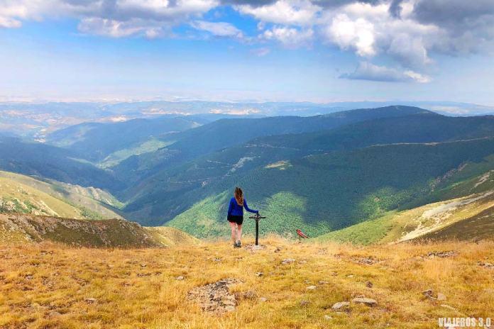 Cima del pico San Millán en Burgos