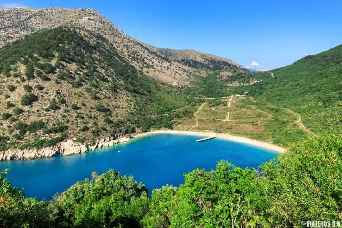 Kakome Beach, las mejores playas de Albania