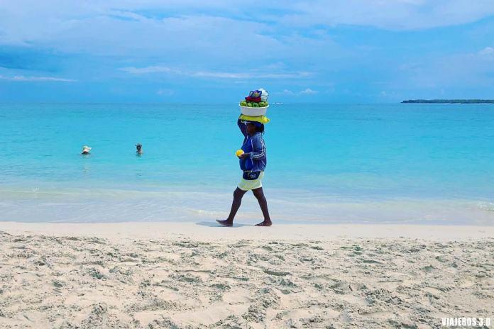 Playa Blanca, de playas en una ruta por Colombia.