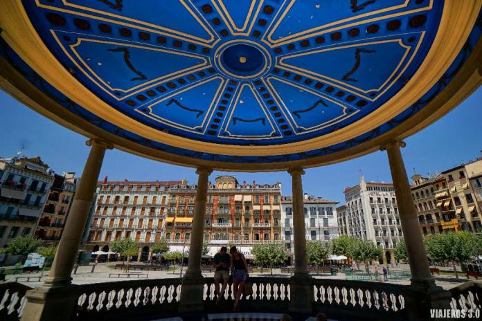 Plaza del Castillo, que hacer y que ver en Pamplona