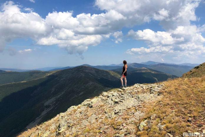 Ascenso al pico San Millán, en el Sierra de la Demanda