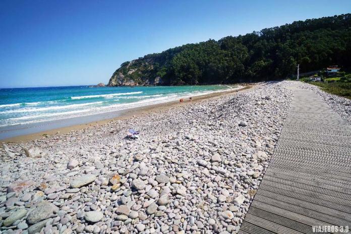 qué ver en Cudillero, playa Concha de Artedo