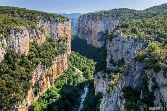 Foz de Arbayún, qué ver cerca de Pamplona